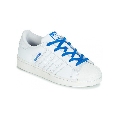 Adidas SUPERSTAR C girls's Children's Shoes (Trainers) in White