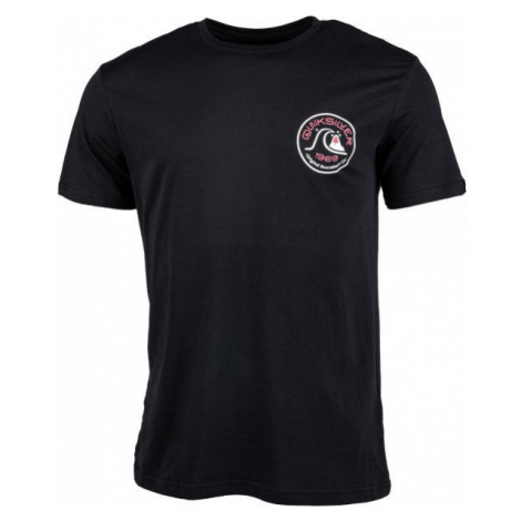 Quiksilver CLOSE CALL SS black - Men's T-shirt