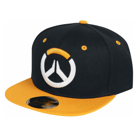 Overwatch - Logo - Snapback Cap - black-orange