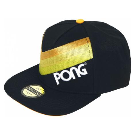 Atari - Pong - Logo - Snapback Cap - black