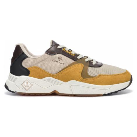 Gant Portland Sneakers Yellow Brown Beige
