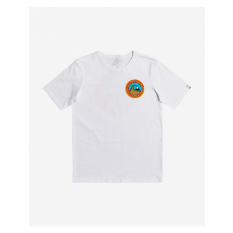 Quiksilver Electric Roots Kids T-shirt White
