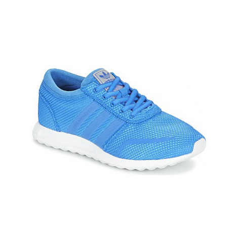 Adidas LOS ANGELES J boys's Children's Shoes (Trainers) in Blue