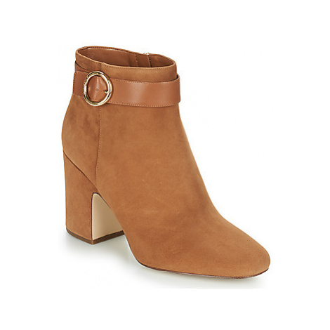 MICHAEL Michael Kors ALANA BOOTIE women's Low Ankle Boots in Brown