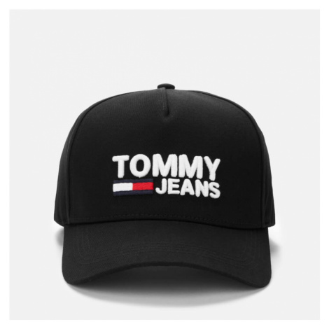 Tommy Jeans Men's Logo Cap - Black Tommy Hilfiger