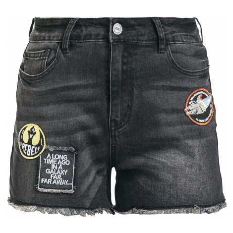 Star Wars - Millenium Falcon - Girls shorts - black