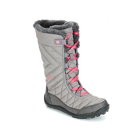 Columbia YOUTH MINX MID II WATERPROOF OMNI-HEAT girls's Children's Snow boots in Grey