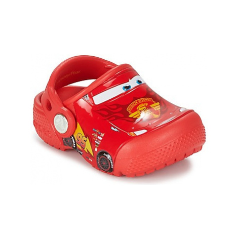 Crocs Crocs Funlab Light CARS 3 Movie Clog girls's Children's Clogs (Shoes) in Red