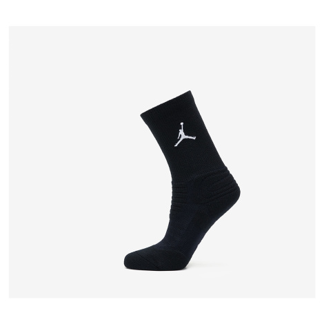 Jordan Flight Crew Socks Black/ White