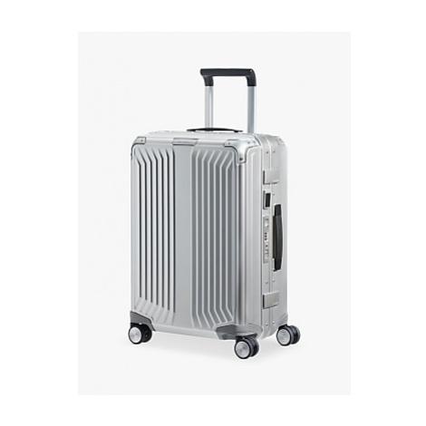 Samsonite Lite-Box 55cm 4-Spinner Wheel Aluminium Suitcase