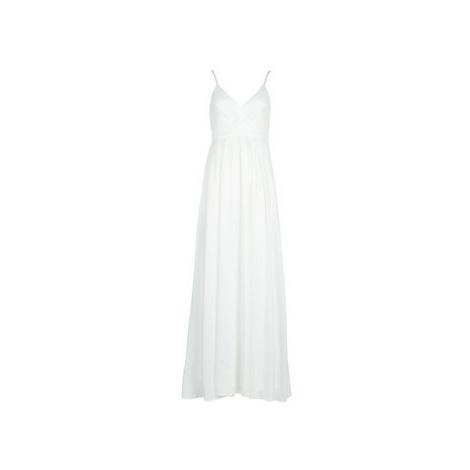 Betty London VICTOIRE women's Long Dress in White