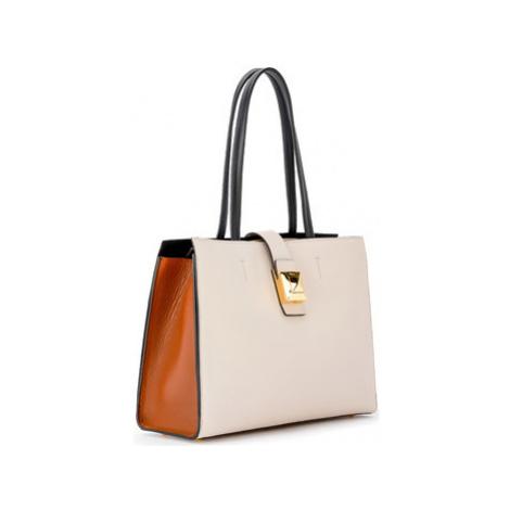 Furla shoulder bag model Diva L in linen colored leather women's Shoulder Bag in Other