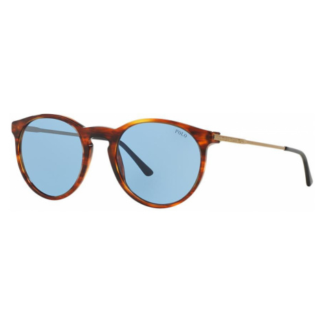 Polo Ralph Lauren Woman PH4096 - Frame color: Tortoise, Lens color: Blue, Size 50-20/140