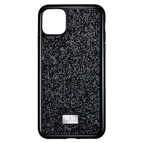 Glam Rock Smartphone Case, iPhone® 11 Pro Max, Black Swarovski