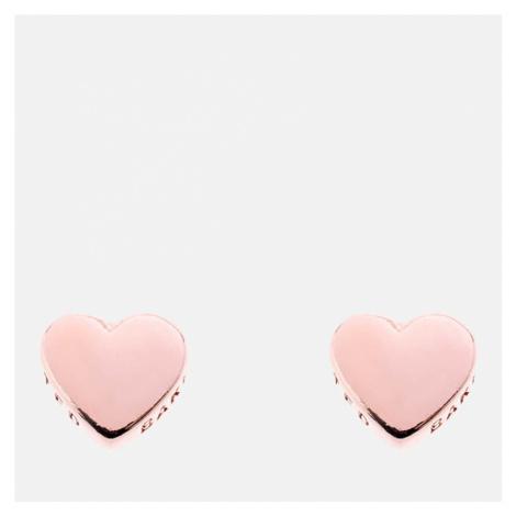 Ted Baker Women's Harly Tiny Heart Stud Earrings - Rose Gold