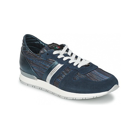 Serafini LOS ANGELES women's Shoes (Trainers) in Blue