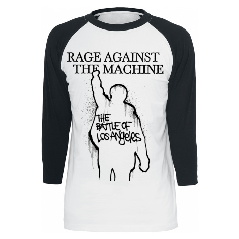 Rage Against The Machine - Album Cover - Longsleeve - white-black