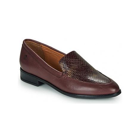 Betty London LILI-FLEUR women's Loafers / Casual Shoes in Bordeaux