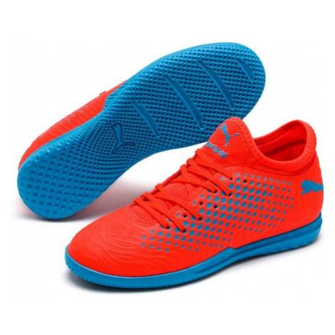 Puma FUTURE 19.4 IT JR red - Junior indoor shoes