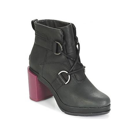 Sorel MARGO LACE women's Low Ankle Boots in Black