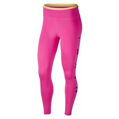 Nike ONE TGT 7/8 ICNCLSH GX W pink - Women's leggings