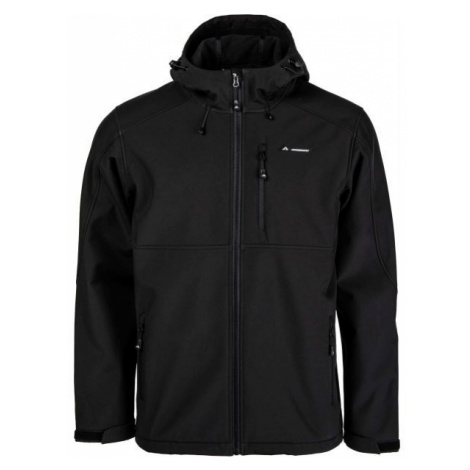 Crossroad PALMER black - Men's softshell jacket