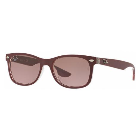 Ray-Ban New wayfarer junior Unisex Sunglasses Lenses: Violet, Frame: Bordeaux - RJ9052S 702414 4