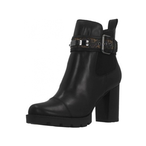 Guess FL8RAF FAL10 women's Low Ankle Boots in Black