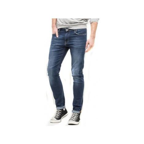 Lee Malone Visual Worn L736AIFB men's Skinny Jeans in Blue