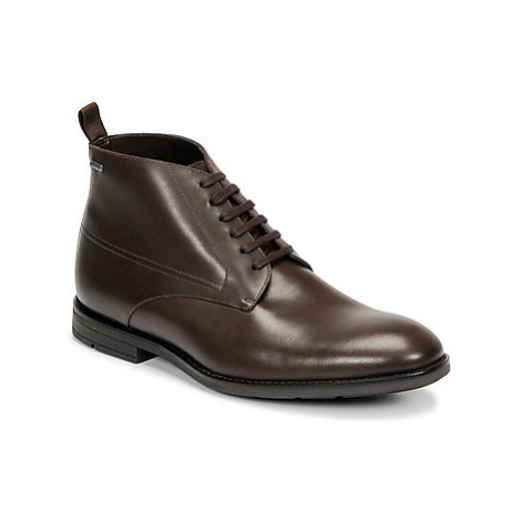 Clarks RONNIE UP GTX men's Mid Boots in Brown