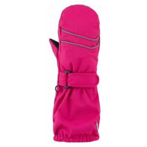 Loap RUBYK pink - Kids' mittens