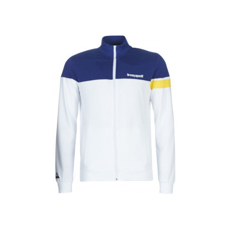 Le Coq Sportif ESS SAISON FZ SWEAT N°1 M men's Tracksuit jacket in White