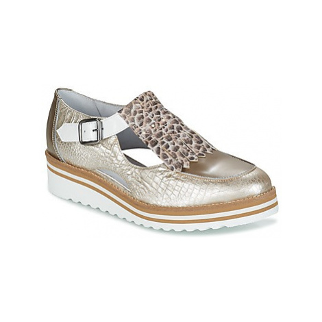 Philippe Morvan DERBY women's Casual Shoes in Silver