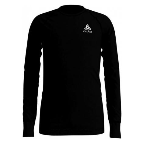 Odlo BL TOP CREW NECK L/S ACTIVE WARM KIDS black - Children's long sleeve T-shirt