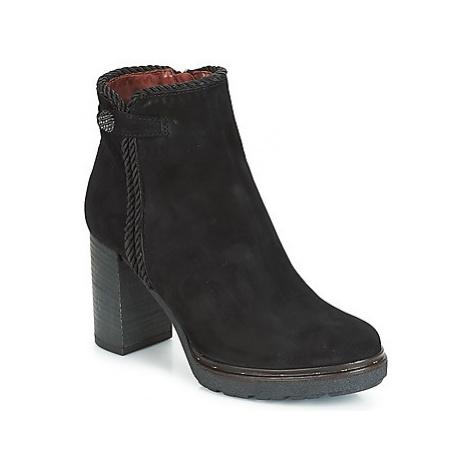 Dream in Green JATUREL women's Low Ankle Boots in Black