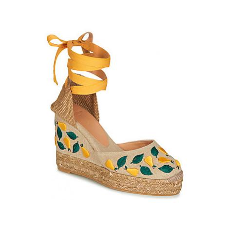 Castaner CARINA women's Sandals in Beige Castañer