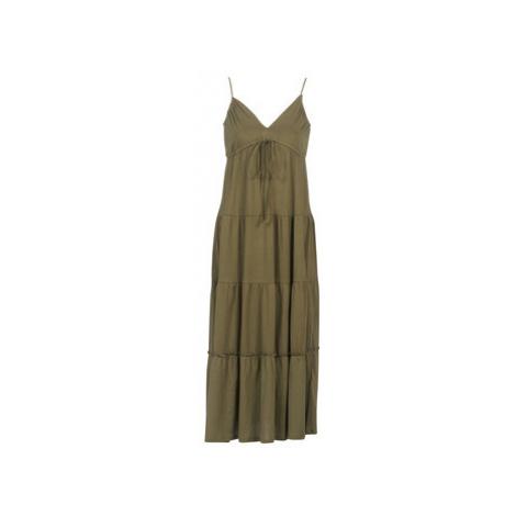 Replay - women's Long Dress in Kaki