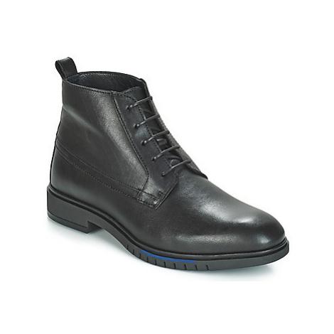 Tommy Hilfiger FLEXIBLE DRESSY LEAT men's Mid Boots in Black