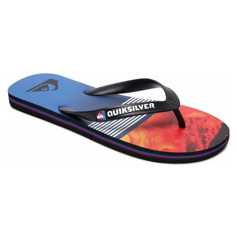 flip flops Quiksilver Molokai Lava Division - XKRB/Black/Red/Blue