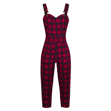 Jawbreaker - Just Checking Plaid Jumpsuit - Jumpsuit - red