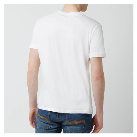 Tommy Hilfiger Men's Flag Logo Crewneck T-Shirt - White