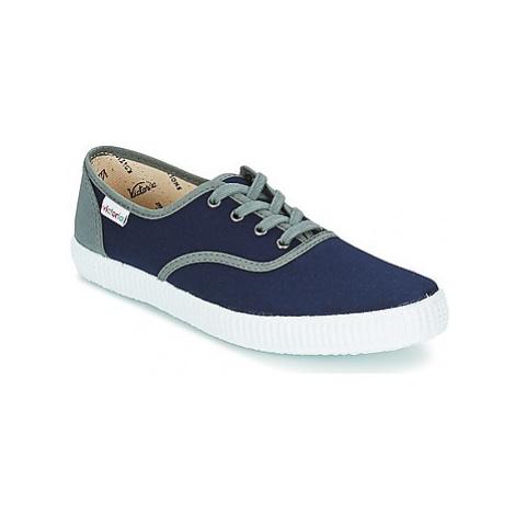 Victoria INGLESA LONA DETALL CONTRAS women's Shoes (Trainers) in Blue