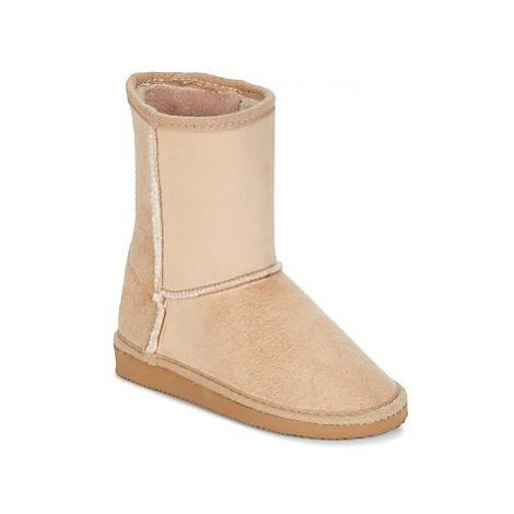 Citrouille et Compagnie ZOONO girls's Children's High Boots in Beige