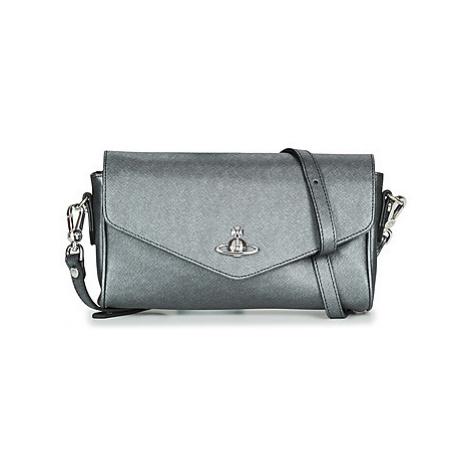 Vivienne Westwood VICTORIA LARGE CROSSBODY women's Shoulder Bag in Grey