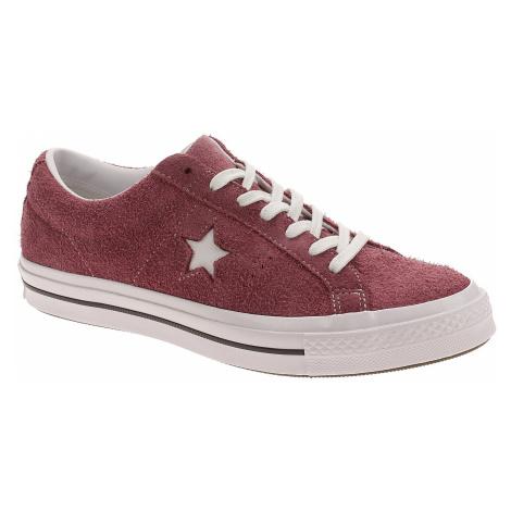 shoes Converse One Star OX - 158370/Deep Bordeaux/White/White
