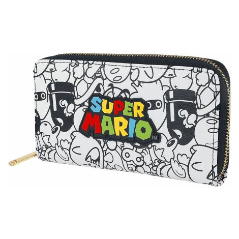 Super Mario Logo Wallet multicolour