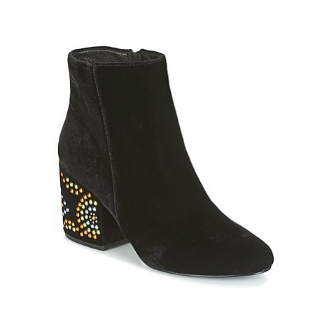 Café Noir GIROU women's Low Ankle Boots in Black