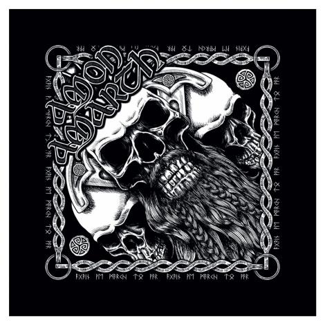 Amon Amarth - Skull - Bandana - Bandana - black