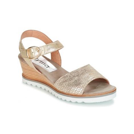 Myma VOSROVA women's Sandals in Gold