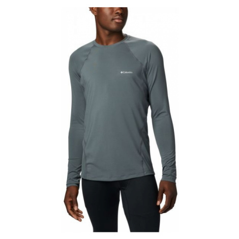 Columbia MIDWEIGHT LS TOP M gray - Men's functional T-shirt